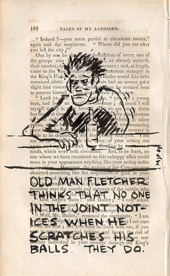 Old man Fletcher thinks - click to enlarge!