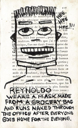 Reynaldo wears a mask - click to enlarge!