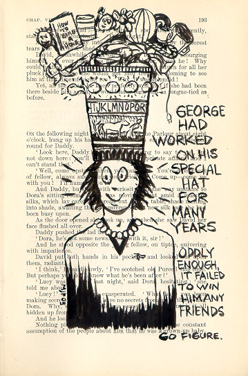 George's special hat - click to enlarge!